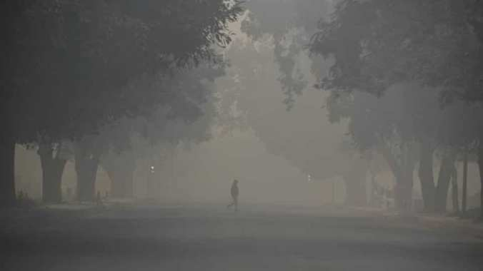 Delhi on 9th November morning